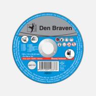 DENBRAVEN vágókorong fémek/inox A46T(A30S)-230x1,9x22.23-T41