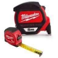 Milwaukee 5m mágneses Prémium+5m Slimline mérőszalag