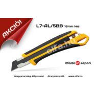 OLFA L7-AL/5BB 18mm-es kés +5db penge