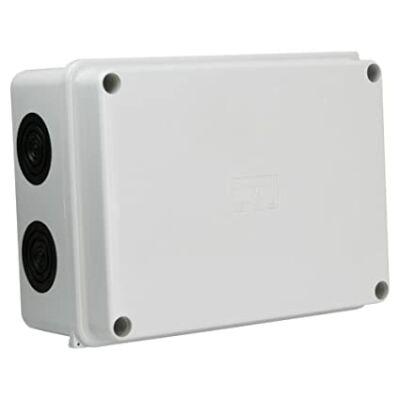MARLANVIL Kötődoboz perforált oldalú 150x110x70 IP65 plomb.