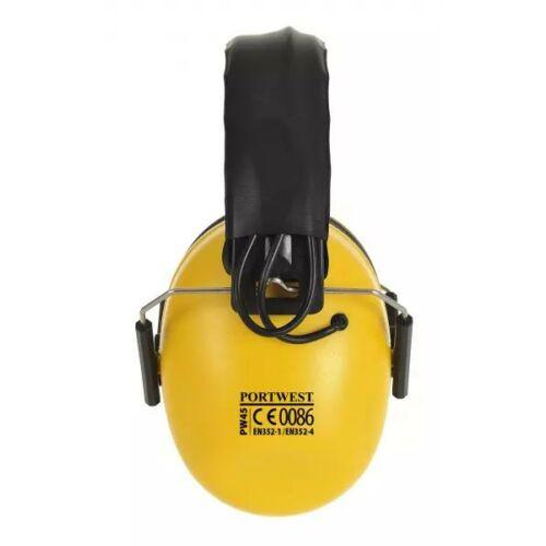 PW45 - Elektronikus fültok - sárga