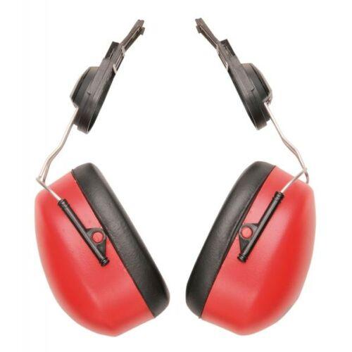 PW47 - Endurance sisakra szerelhető fültok - piros