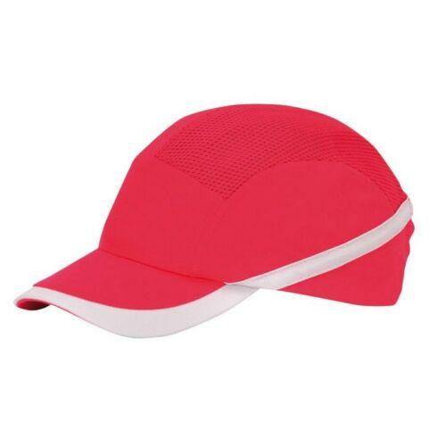 PW69 - Lélegző ütésbiztos baseball sapka - piros