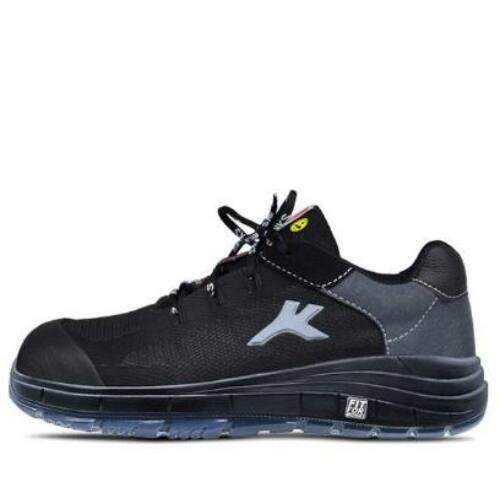 HKS cipő FREE 1 TP fekete/szürke S1P SRC ESD 42