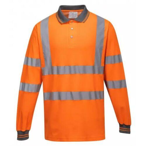S271 - Hosszú ujjú Cotton Comfort pólóing - narancs