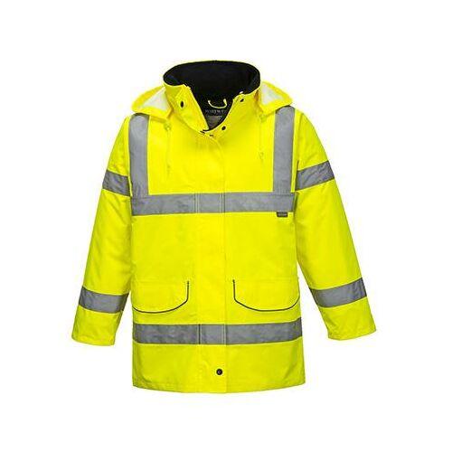 S360 - Jól láthatósági női kabát - sárga