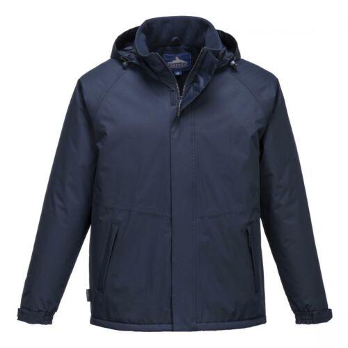 S505 - Limax bélelt kabát - tengerészkék