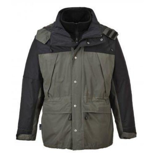 S532 - Orkney 3 az 1-ben lélegző kabát - szürke