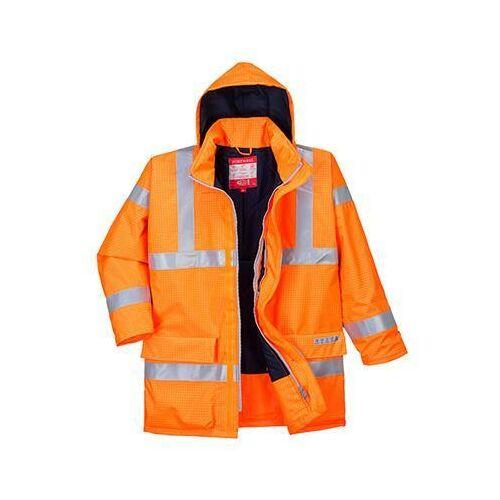 S778 - Antisztatikus és lángálló kabát - narancs