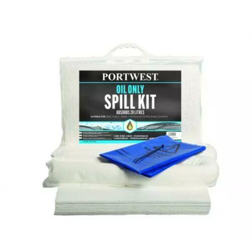 SM60 - PW Spill 20 Liter olajfelszívó készlet - fehér