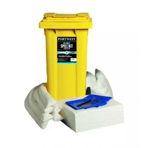SM63 - PW Spill 120 Liter Olajszorbens készlet - fehér