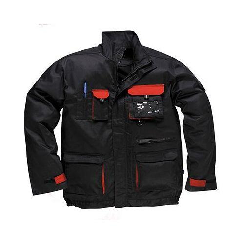 TX10 - Texo kétszínű kabát - fekete/piros