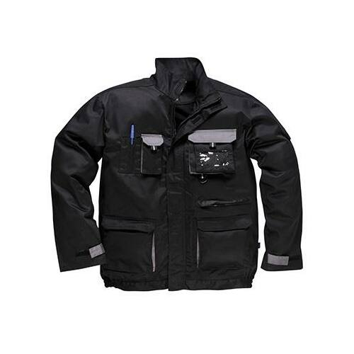 TX10 - Texo kétszínű kabát - fekete