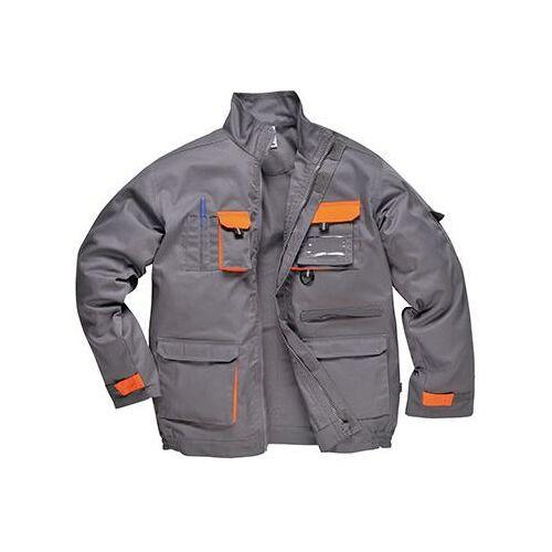 TX10 - Texo kétszínű kabát - szürke
