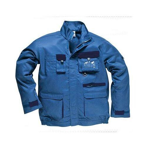 TX10 - Texo kétszínű kabát - royal kék