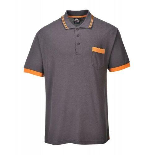 TX20 - Texo Contrast pólóing - szürke