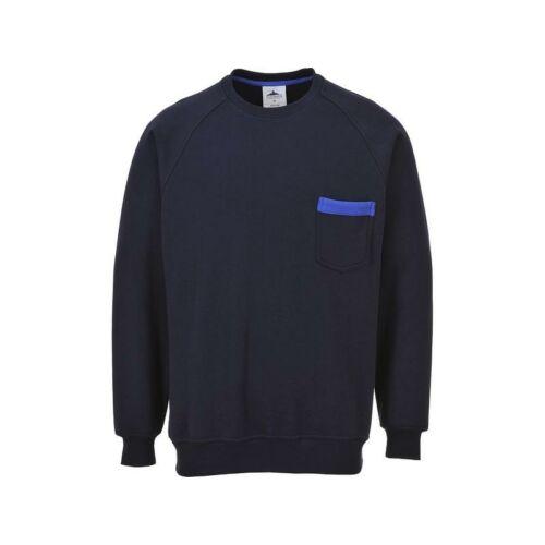 TX23 - Portwest Texo pulóver - Tengerészkék