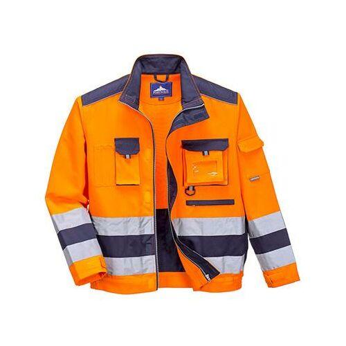 TX50 - Texo Hi-Vis kabát - narancs / tengerész