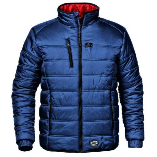 Patrol kabát - kék/piros