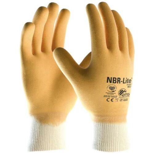 ATG NBR lite teljesen mártott sárga nitril kesztyű - 24-986