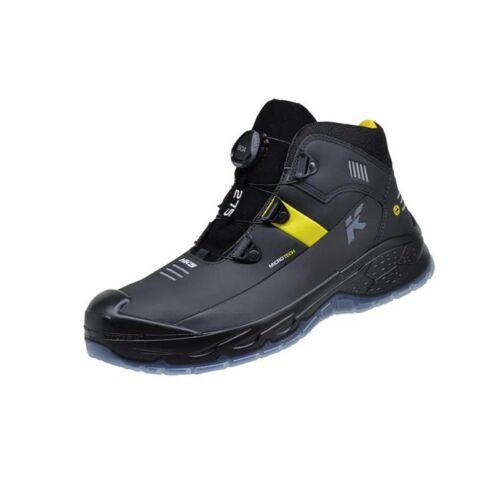 HKS bakancs RS275 Boa S3 SRC ESD fekete/sárga 42
