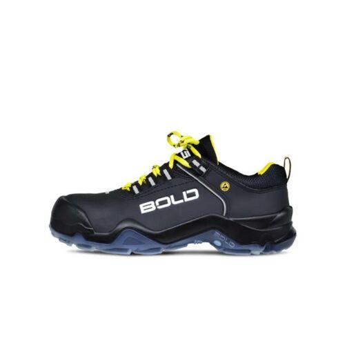 HKS cipő Speed 1 VTP fekete/sárga S3 SRC ESD 42