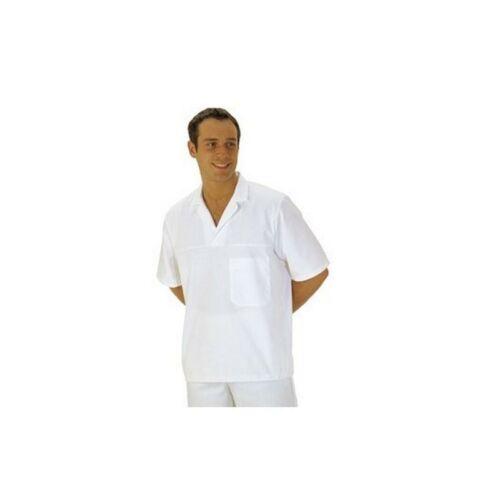 2209 - Élelmiszeripari ing rövid ujjal - fehér