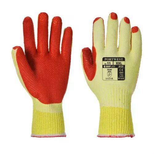 A135 - Tough Grip kesztyű - Sárga