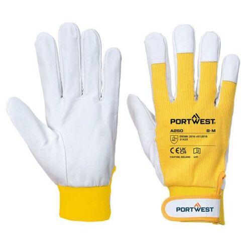 A250 - Tergsus védőkesztyű - sárga