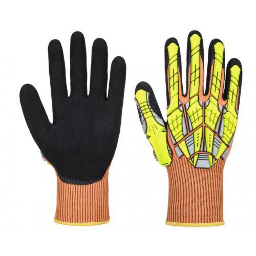 A727 - DX VHR Impact kesztyű- fekete/sárga/narancs