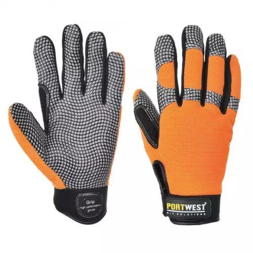 A735 - Comfort grip - NT védőkesztyű - narancs
