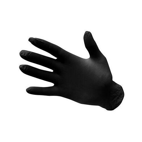 A925 - Egyszerhasználatos nitril kesztyű, púdermentes (100 db) - fekete