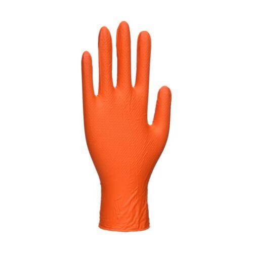 A930 - Orange HD egyszerhasználatos kesztyű (100db) - narancs