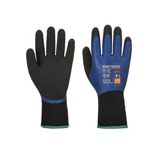 AP01 - Thermo Pro kesztyű - kék / fekete