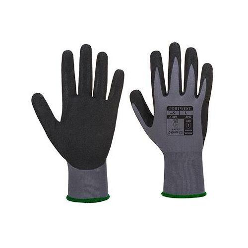 AP62 - Dermiflex Aqua kesztyű - szürke / fekete