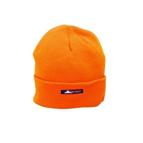 B013 - Téli sapka - narancs