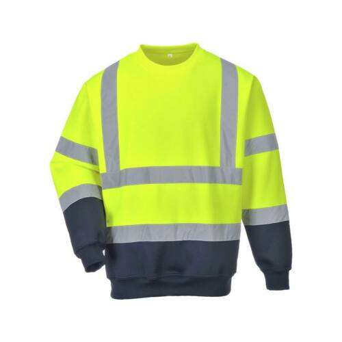B306 - Kéttónusú Hivis pulóver - Sárga