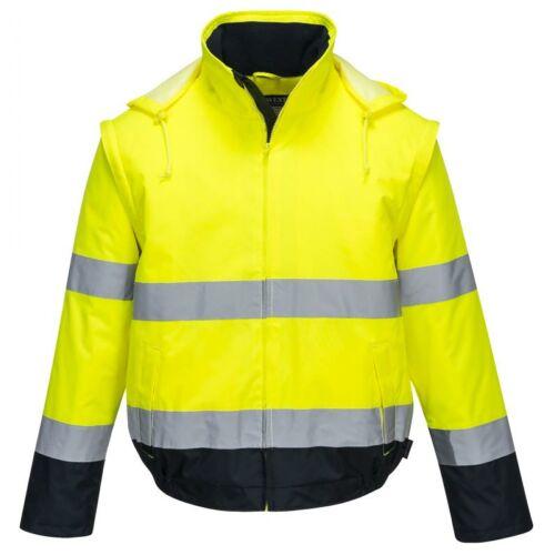C464 - Essential 2 az 1-ben kabát - sárga
