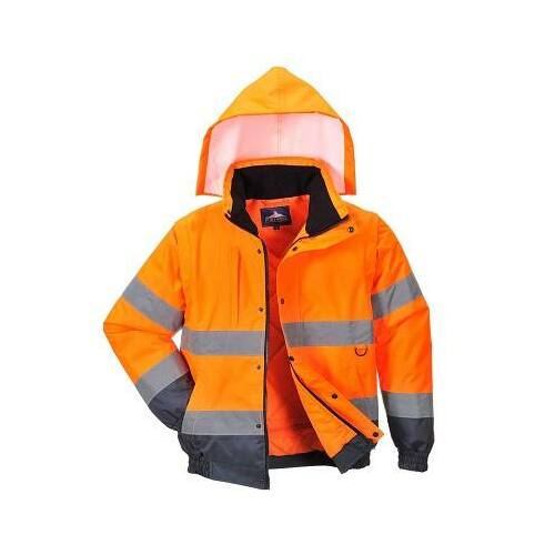 C468 - HiVis 2 az 1-ben kabát - Narancs