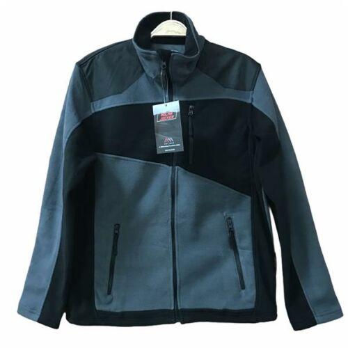 Rikovett Polar zippzáras pulóver - fekete/szürke XL