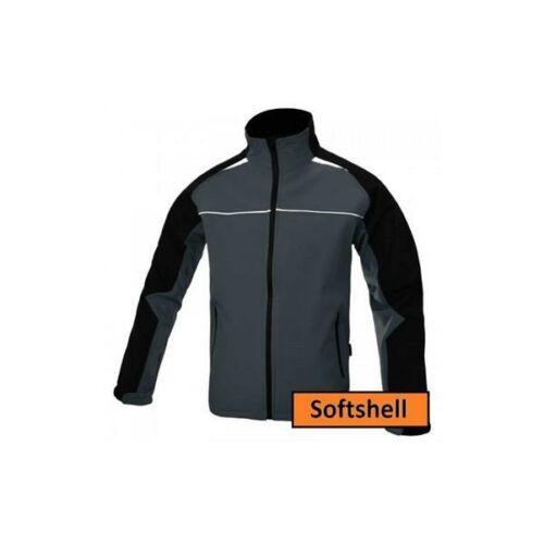 Rikovett SoftShel kabát - fekete/szürke L