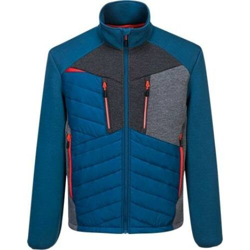 DX471 - Portwest DX4 Baffle kabát - metro kék