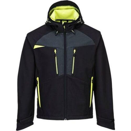 DX474 - Portwest DX4 Softshell kabát - fekete