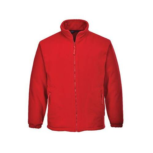 F205 - Aran polár pulóver - piros