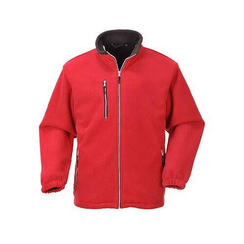 F401 - City polár pulóver - piros