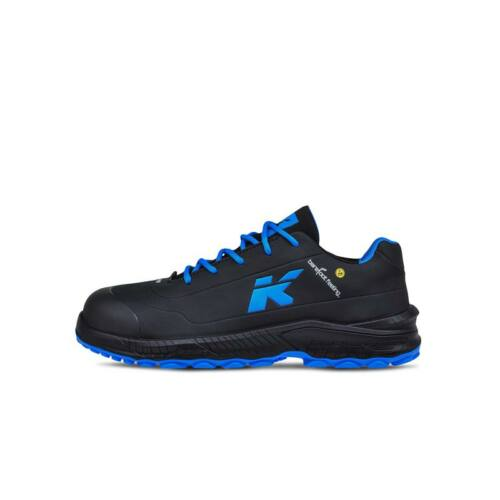 HKS cipő BFS 10 fekete/kék S3 SRC ESD 42