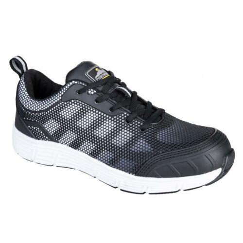 FT15 - Steelite Tove Trainer védőcipő, S1P - fekete / fehér