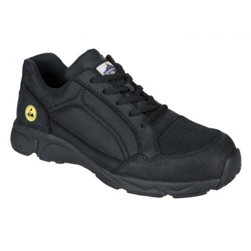 FT62 - Compositelite ESD Tees védőcipő S1P - fekete