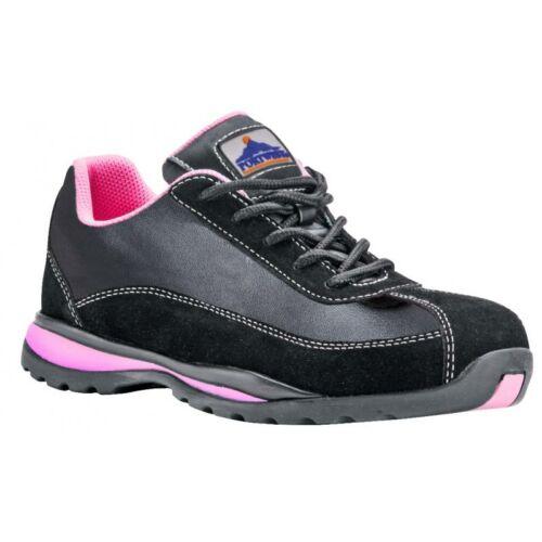 FW39 - Steelite női félcipő S1P - fekete/pink