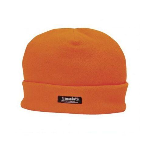 HA10 - Polár sapka Insulatex béléssel - narancs